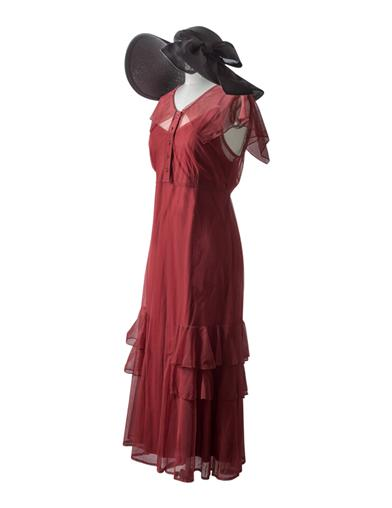 Titanic Dresses & Costumes | 1912 Dresses April Cornell Delilah Dress $89.99 AT vintagedancer.com