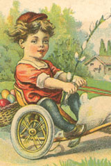 Your Bunny Chariot Awaits! Have A Magical Easter.