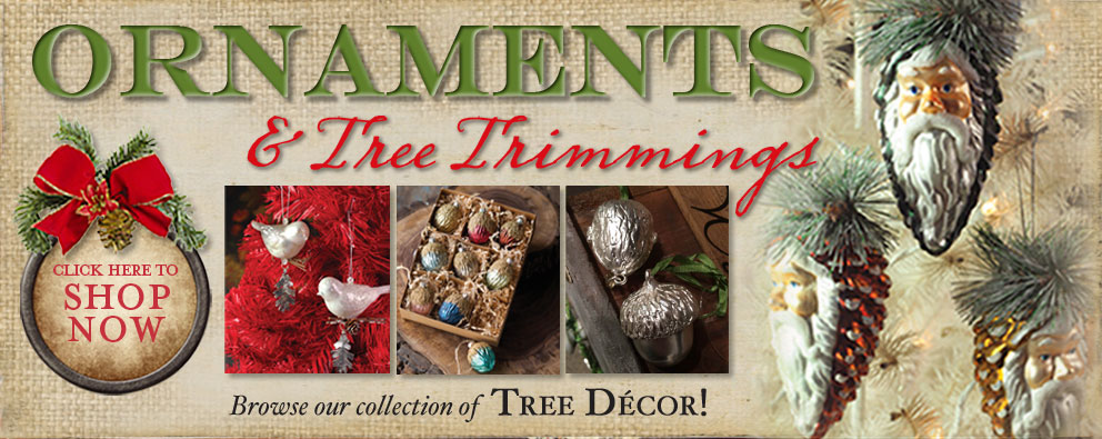 Ornaments and Tree Trimmings