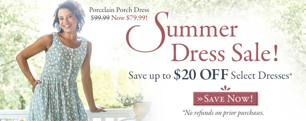 Summer Dress Sale