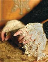 VENETIAN LACE CUFFS ANTIQUE
