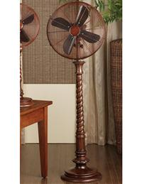 Barley Twist Floor Fan