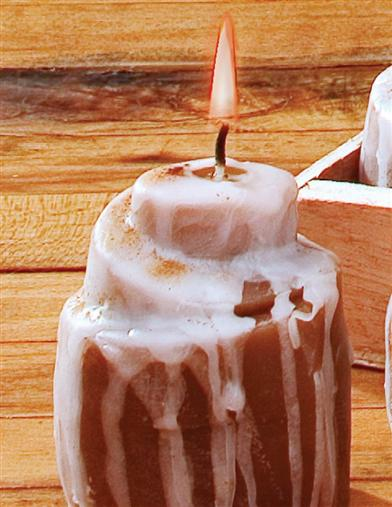 CINNAMON ROLL CANDLES (SET OF 6)