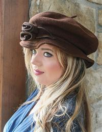Jane Austen Hat (Brown)