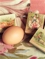 Easter Hurdy Gurdies (Set Of 4)