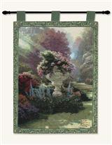 THOMAS KINKADE THE GARDEN OF HOPE WALLHANGING