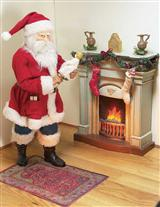 FABRICHE COLLECTION FIRESIDE SANTA CLAUS