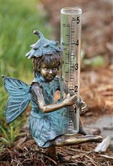 FLOWER FAIRY RAIN GAUGE