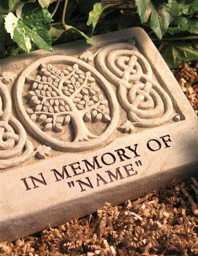 Personalized Memorial Stone