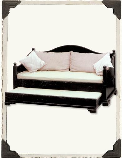 COMPANY'S COMING TRUNDLE BED (BLACK)