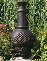 VICTORIAN POTBELLY CHIMNEY