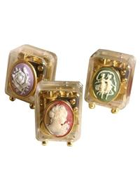 SET OF 3 ALL OCCASION CAMEO MUSIC BOXES