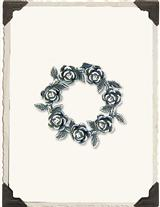 POSTERITY ROSE BROOCH