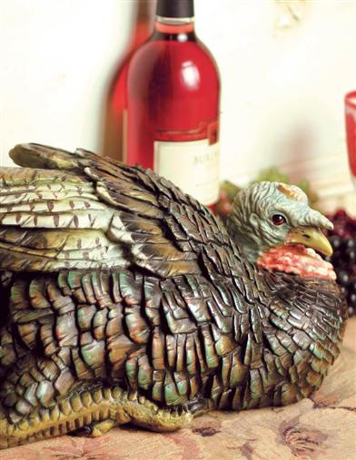WILD TURKEY CENTERPIECE