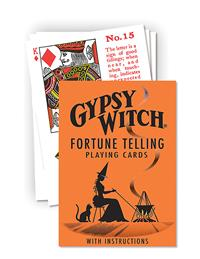 Gypsy Witch Playing Cards