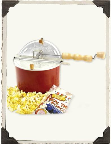 WHIRLY POP POPCORN POPPER