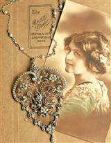 ELIZABETH ALLEN HEIRLOOM PENDANT/BROOCH IG