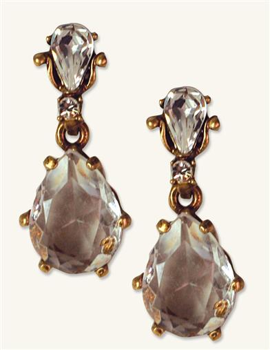 NOUVEAU VICTORIAN PRISM EARRINGS