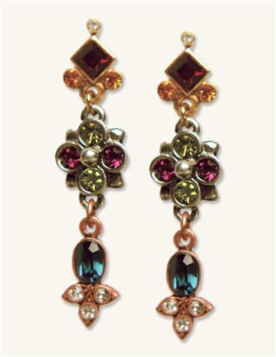 BALMORAL VICTORIAN SLIDE EARRINGS