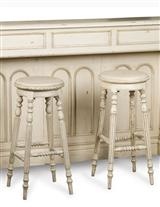 Victorian Bar Stools (Pair)