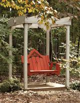 THE OLD RED SWING & ARBOR SET