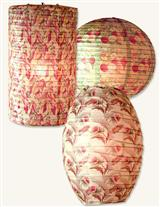 NOSTALGIC PAPER LANTERNS (SET OF 3)