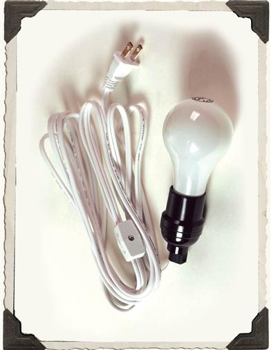 12 FT LANTERN LIGHT CORD