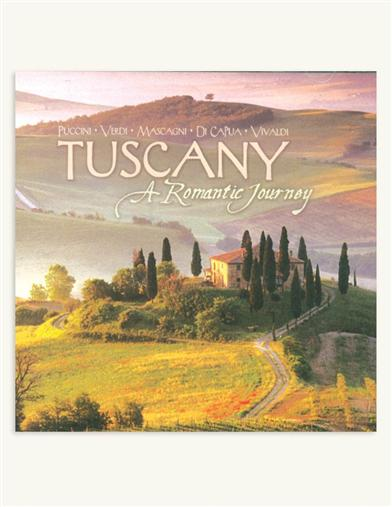 TUSCANY, A ROMANTIC JOURNEY CD