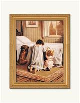 THE PLAYMATES' PRAYERS FRAMED PRINT