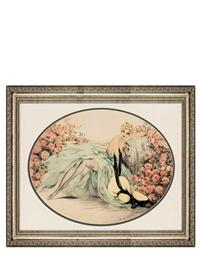 LA BELLE ROSE FRAMED PRINT