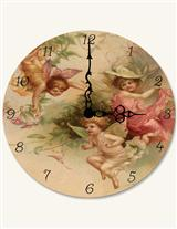 GARDEN FAIRIES CLOCK