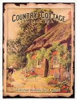 Country Cottage Select Tea Sign