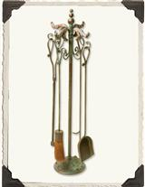 FLORENTINE FIREPLACE TOOLS