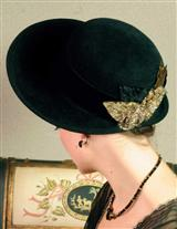 Louise Green Miss Alcott Hat