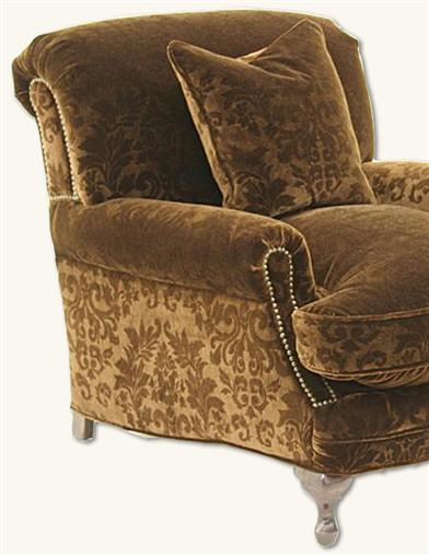 TOFFEE VELVET CHAIR