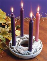STONE ADVENT WREATH