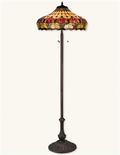 COLONIAL TULIPS FLOOR LAMP