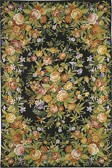 MEADOW AT MIDNIGHT RUG 4 X 6'