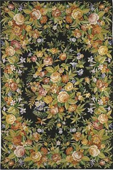 MEADOW AT MIDNIGHT RUG 8 X 10'