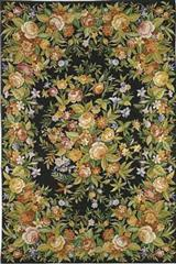 MEADOW AT MIDNIGHT RUG 8 X 10'          IA