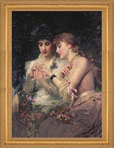Thorn Amidst Roses Framed Print
