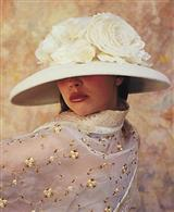 LOUISE GREEN BLANCHE HAT