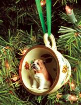 FAVORITE DOG BREED TEACUP ORNAMENT (FALL)