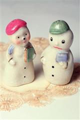 MR. AND MRS. SPRINKLE SALT & PEPPER
