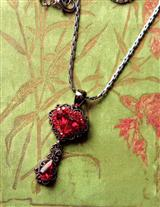 BLEEDING HEART NECKLACE