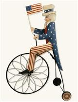 THREE-WHEELIN' UNCLE SAM