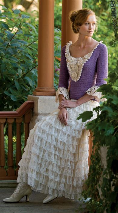 PRAIRIE CHIC LACE SKIRT
