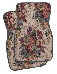 Tapestry Car Mats (Taupe)