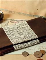 LEATHER & LACE WALLET