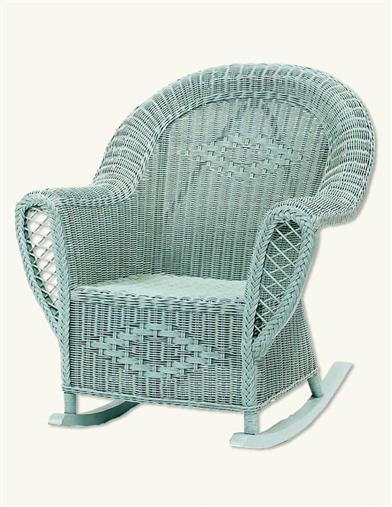 LUCY VINCENT WICKER ROCKER